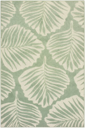 Oriental Weavers Barbados 8027z Green - Ivory Area Rug