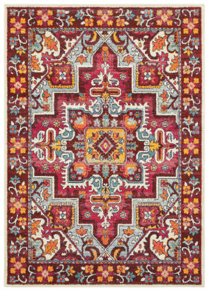 Oriental Weavers Bohemian 5330r Red - Pink Area Rug