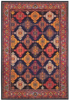Oriental Weavers Bohemian 6997k Navy - Yellow Area Rug