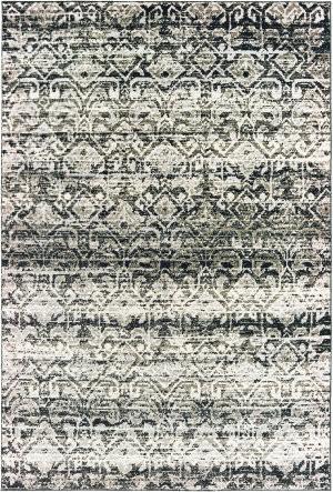 Oriental Weavers Bowen 042h2 Grey - Ivory Area Rug