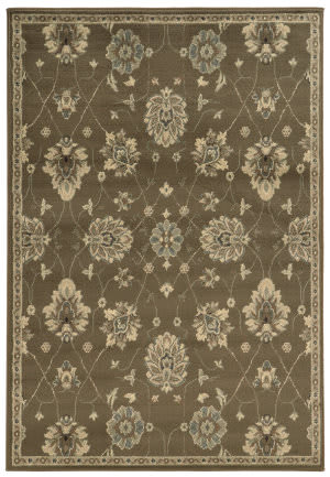 Oriental Weavers Brentwood 1330e Brown Area Rug