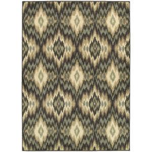 Oriental Weavers Brentwood 531k9 Ivory/Blue Area Rug
