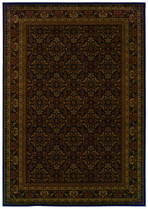 Oriental Weavers Cambridge 180n2 Black Area Rug