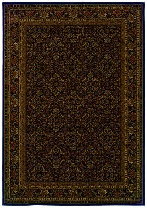 Oriental Weavers Cambridge 180n2 Black Area Rug
