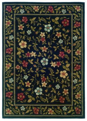 Oriental Weavers Camden 1196d Black Area Rug