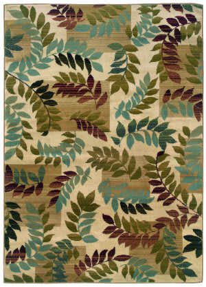 Oriental Weavers Camden 2244a Green Area Rug