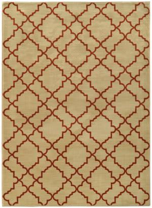 Oriental Weavers Casablanca 5178e Beige / Rust Area Rug