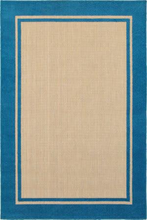 Oriental Weavers Cayman 5594b Sand - Blue Area Rug