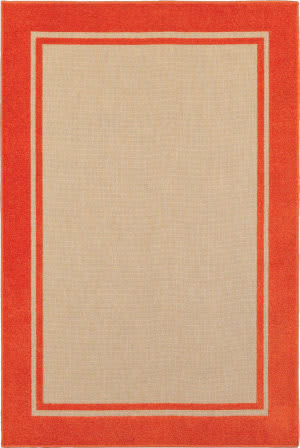Oriental Weavers Cayman 5594q Sand - Orange Area Rug