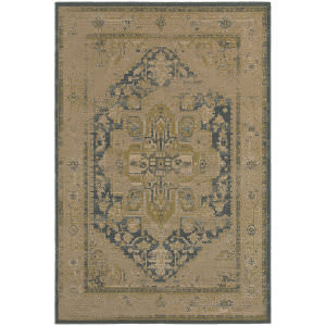 Oriental Weavers Chloe 4694a Tan Area Rug