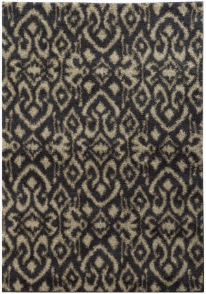 Oriental Weavers Covington 505b6 Midnight / Beige Area Rug
