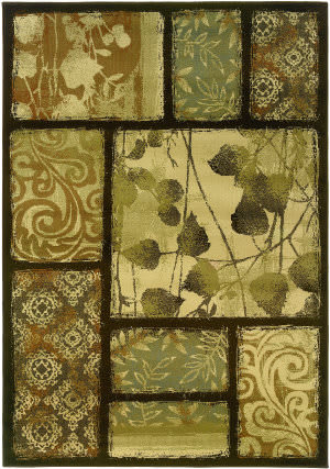 Oriental Weavers Darcy 8025d Brown Area Rug