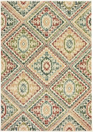 Oriental Weavers Dawson 8530a Ivory - Multi Area Rug