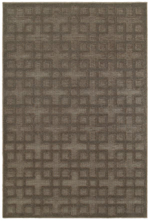 Oriental Weavers Elisa 118n2 Brown Area Rug