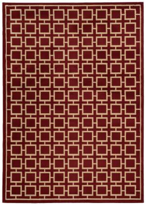 Oriental Weavers Ella 3885a Red / Beige Area Rug