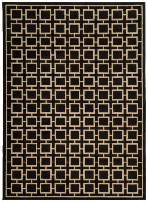 Oriental Weavers Ella 3885c Black / Beige Area Rug