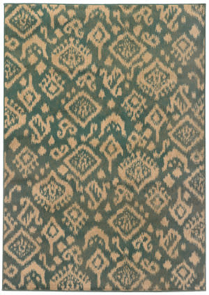 Oriental Weavers Ella 5113b Blue / Beige Area Rug