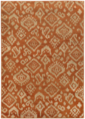 Oriental Weavers Ella 5113c Orange / Beige Area Rug