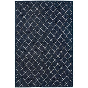 Oriental Weavers Ellerson 90q Navy Area Rug