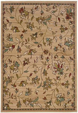 Oriental Weavers Emerson 1994A Tan Area Rug