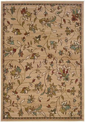 Oriental Weavers Emerson 1994A Tan Area Rug
