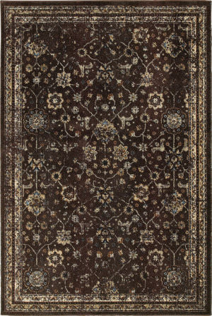Oriental Weavers Empire 113d Brown - Ivory Area Rug