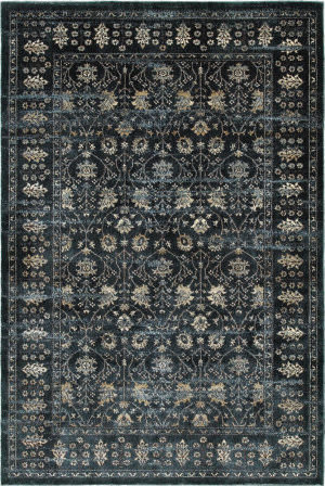 Oriental Weavers Empire 501l Navy - Ivory Area Rug