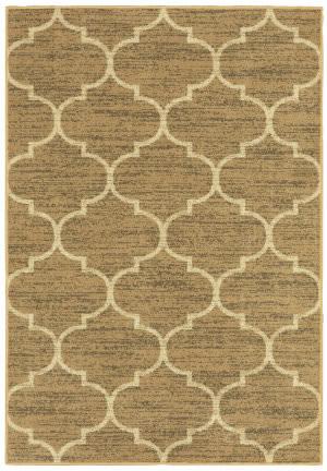 Oriental Weavers Evandale 9853a Beige - Ivory Area Rug