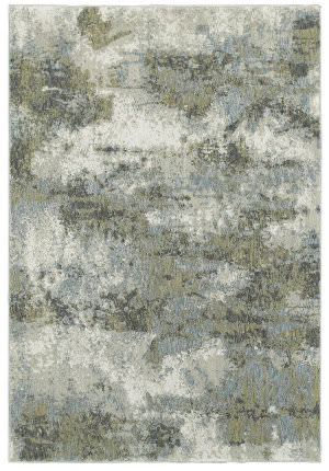 Oriental Weavers Evolution 8039e Blue - Green Area Rug