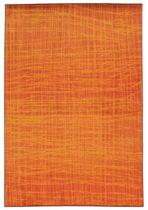 PANTONE UNIVERSE Expressions 5998o Orange/ Yellow Area Rug