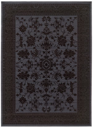 Oriental Weavers Foundry 597e Blue Area Rug
