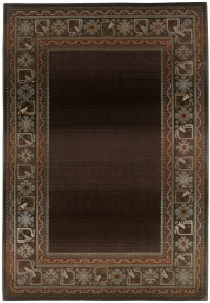 Oriental Weavers Generations 3436b Raisin Area Rug
