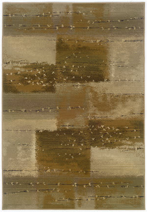 Oriental Weavers Genesis 908a1 Tan/Rust Area Rug