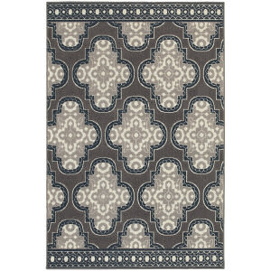 Oriental Weavers Hampton 5641h Grey Area Rug