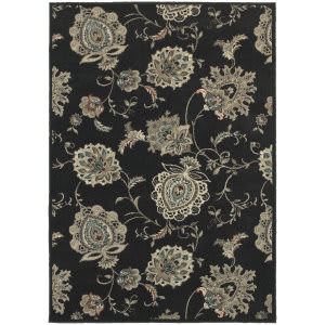 Oriental Weavers Highlands 2444i Midnight Area Rug