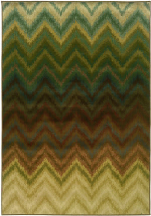 Oriental Weavers Hudson 3458a Brown/Multi Area Rug
