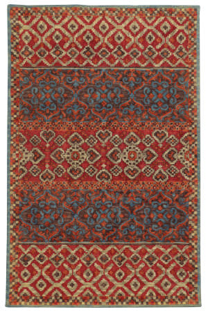 Tommy Bahama Jamison 53301 Red Area Rug