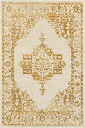Oriental Weavers Jayden 7370h Ivory - Gold Area Rug