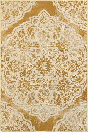 Oriental Weavers Jayden 7422f Gold - Ivory Area Rug