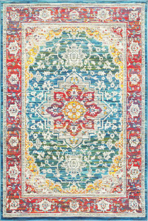 Oriental Weavers Joli 502x Red - Multi Area Rug