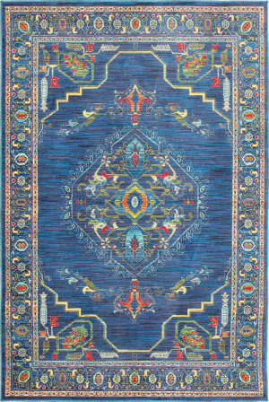 Oriental Weavers Joli 564b Blue - Multi Area Rug