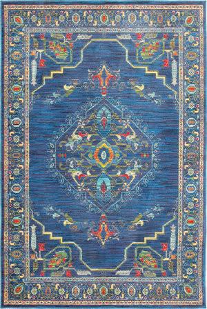 Oriental Weavers Joli 564b Blue - Multi Area Rug