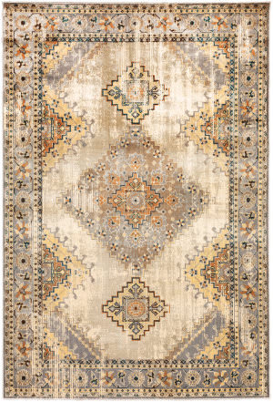 Oriental Weavers Juliette 203w3 Grey - Beige Area Rug