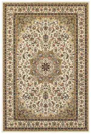 Oriental Weavers Kashan 119w Ivory - Beige Area Rug