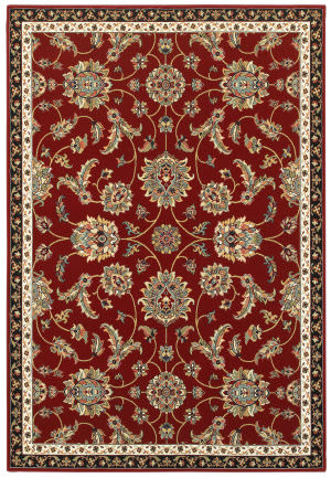 Oriental Weavers Kashan 370r Red - Multi Area Rug