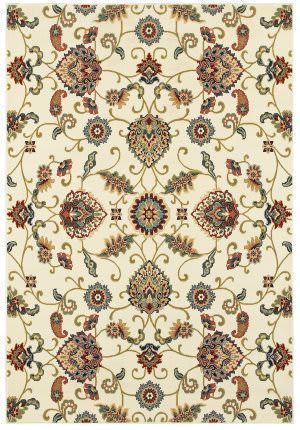 Oriental Weavers Kashan 9946w Ivory - Multi Area Rug