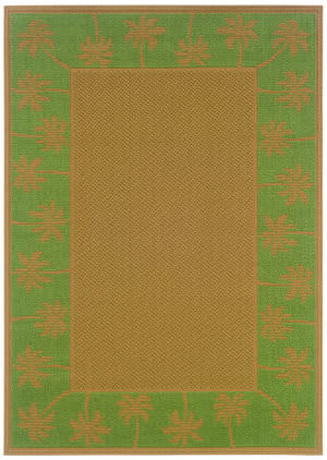 Oriental Weavers Elements 606f6 Green Area Rug