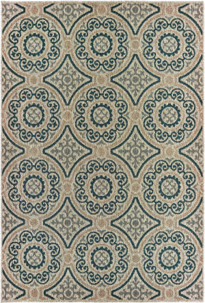 Oriental Weavers Latitude 609x3 Grey - Blue Area Rug