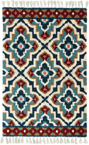 Oriental Weavers Madison 61401 Blue - Ivory Area Rug