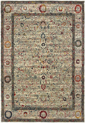 Oriental Weavers Mantra 1905w Ivory - Multi Area Rug